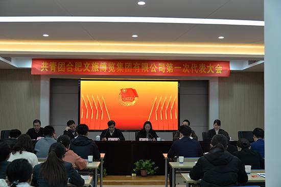共青团合肥文旅博览集团有限公司第一次代表大会顺利召开