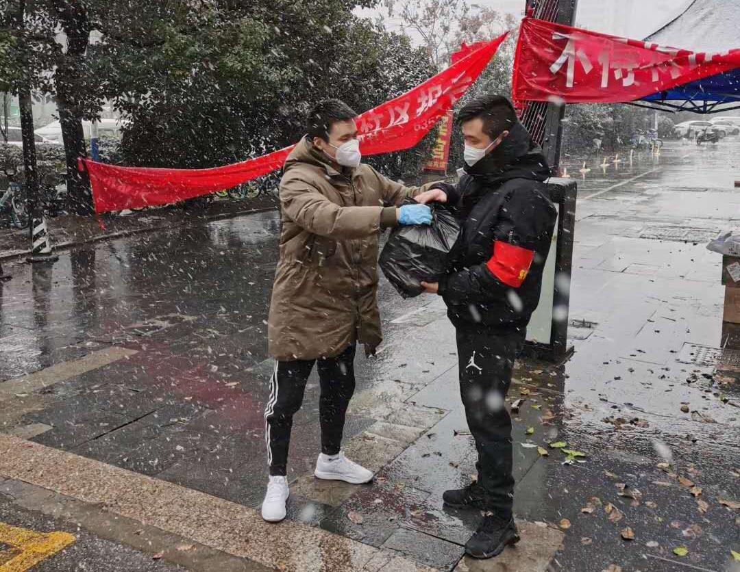 """合肥文旅博览集团全力以赴为支援社区员工""""保驾护航"""""""